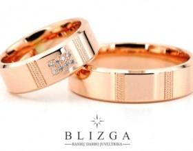 Vestuviniai žiedai iš aukso